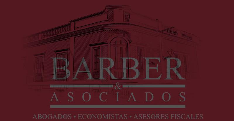 barber asociados abogados intro casa logo